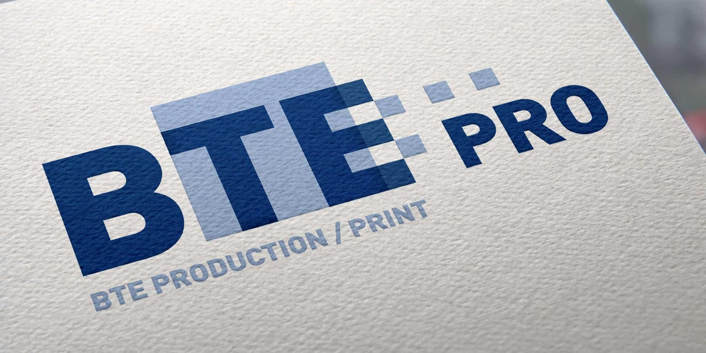 BTE-Natural Paper Printed Logo MockUp